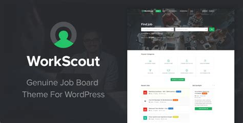 workscout job board wordpress theme zim templates