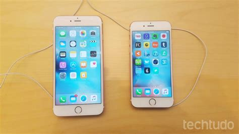 e iphone 6s plus iphone 6s plus celulares e tablets techtudo