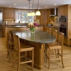 Kitchen Island With Table Dining Table Kitchen Island Dining Table