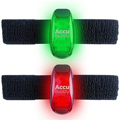 beleuchtung joggen 2x helle lichter mit clip und armband die ideale