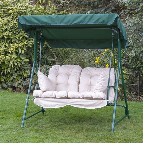 replacement cushions for swing chair garden 2 seater replacement swing seat hammock cushion set