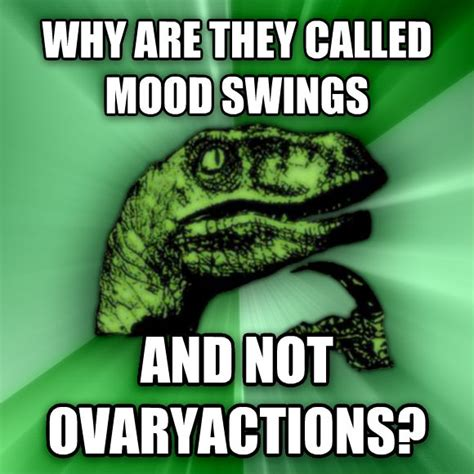 why mood swings during period livememe com philosoraptor