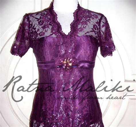 Kebaya Ratna ratna maliki kebaya kebaya modern purple purple