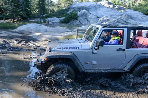 Driving Jeep Driving The Rubicon Trail In A Jeep Wrangler Motoring