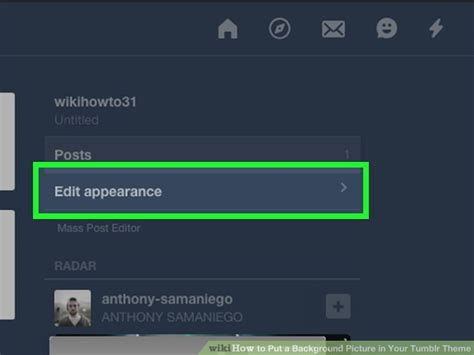 tumblr themes with background image option how to put a background picture in your tumblr theme