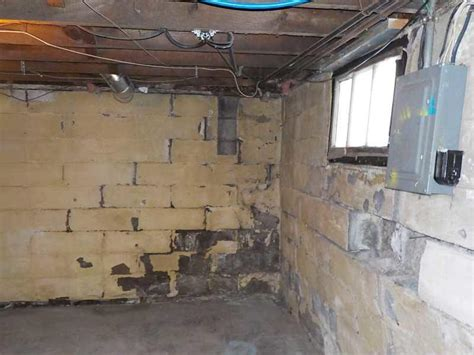 ayers basement systems photo album badly bowed walls are