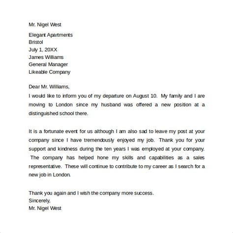 farewell letter to colleagues template 12 sle farewell letters to co workers pdf word