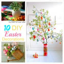 10 diy easter decorations my craftily ever after