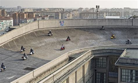 Fiat Test Track Turin The Rooftop Racetrack Of Fiat S Lingotto Factory Amusing