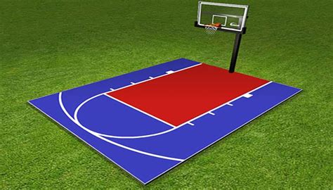 Backyard Basketball Court Price by How Much Does An Outdoor Basketball Court Cost