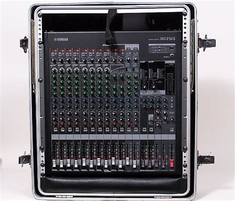 Mixer Yamaha Mgp 16 Channel yamaha mgp series mgp16x 16 channel 4 mixer w rolling