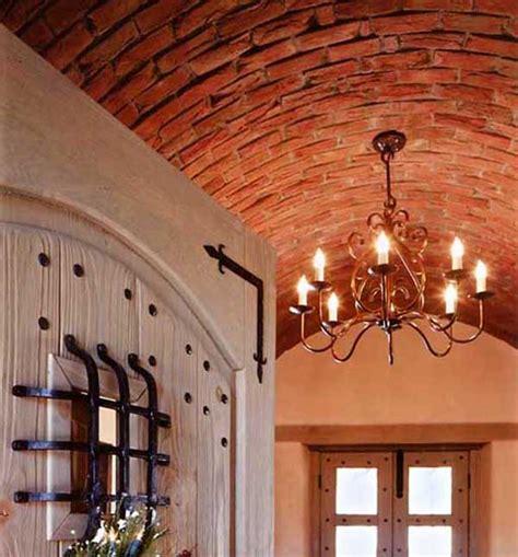 a brick barrel vault makes a stunning addition to a home