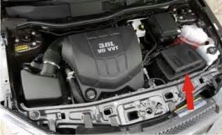 solved where is battery in the 2008 chevy equinox fixya