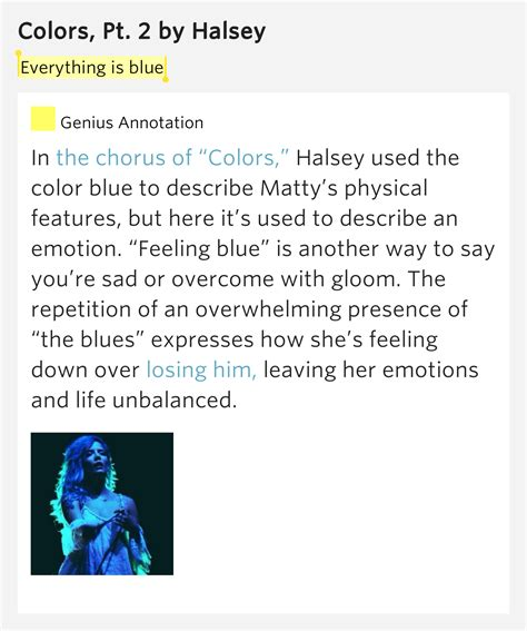 coloring book lyrics genius everything is blue colors pt 2 lyrics meaning