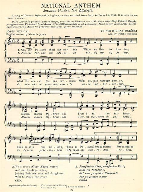 printable lyrics to the national anthem usa english national anthem sheet music