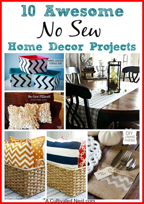 sewing projects home decor 15 easy sewing projects for beginners a cultivated nest