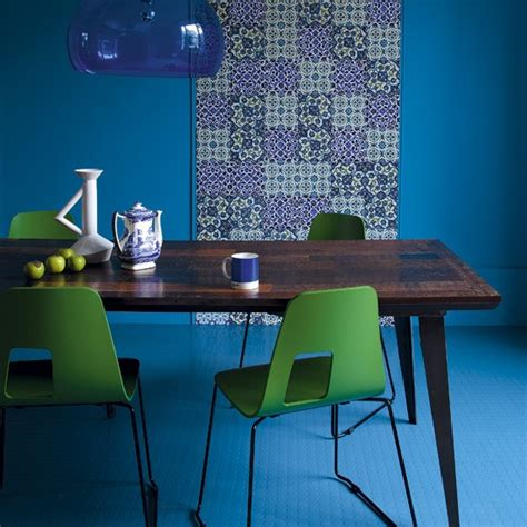 blue and green room blue and green dining room colourful dining room ideas 10 of the best housetohome co uk