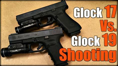 glock 17 vs glock 19 vs glock 26 glock 17 vs glock 19 shooting youtube