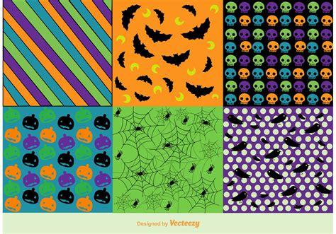 vector halloween background patterns