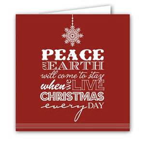 peace on earth folded photo cards paperstyle