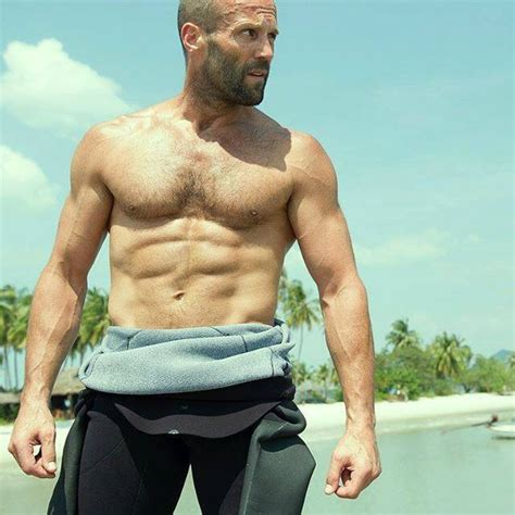 jason statham shifts into mechanic resurrection amc bears abound here are 99 hairy chests we love