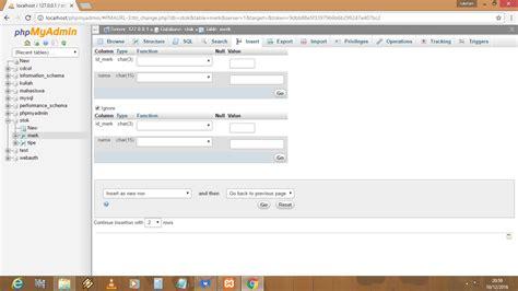 cara membuat erd dengan tabel cara mengisi atau membuat tabel pada database menggunkan