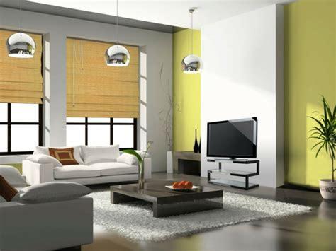 farbgestaltung wohnzimmer beispiele gr 252 nt 246 ne wandfarbe sorgen f 252 r eine frische und ruhige