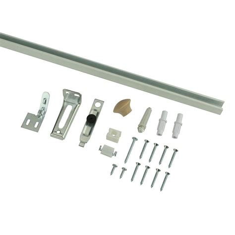 Everbilt 24 In Bi Fold Door Hardware Set 14966 The Home Bifold Closet Door Track Hardware
