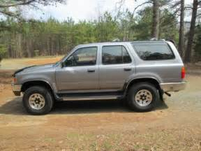 1994 Toyota 4runner 4x4 Sell Used 1994 Toyota 4runner 4x4 Sr5 V6 Automatic Silver