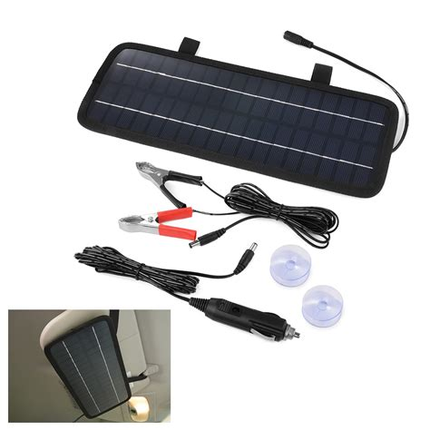 boat battery charger ebay 12v 4 5w portable solar panel car battery charger for