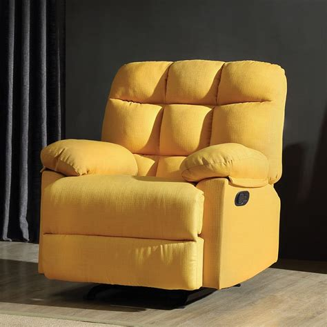 yellow recliner chair g551 rocker recliner yellow furniture furniture cart