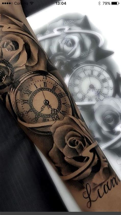 year long tattoo best 25 clock tattoos ideas on time