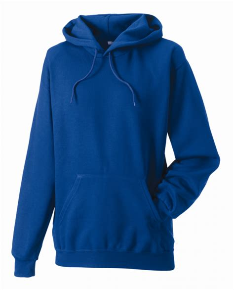 Royal Blue Hodie Rajut sports hooded superior weight sweatshirt county sports and schoolwear