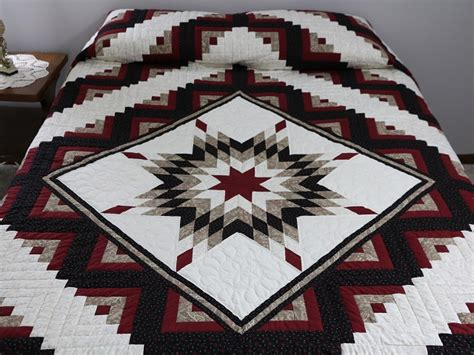 Lone Log Cabin Quilt Pattern by Lone Log Cabin Quilt Magnificent Carefully Made
