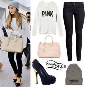 90 Down Duvet Ariana Grande White Sweater Platform Pumps Steal Her Style