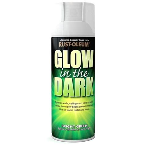 glow in the paint brands rust oleum glow in the bright green spray paint 400ml