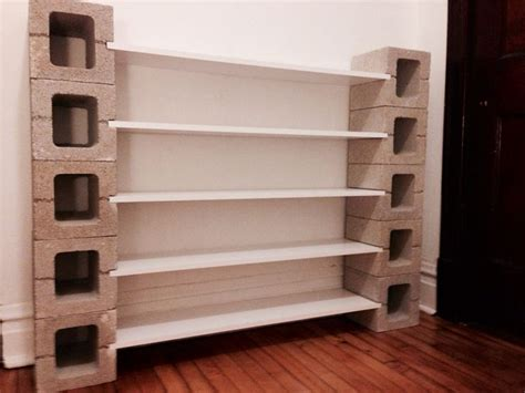 25 best ideas about cinder block shelves on