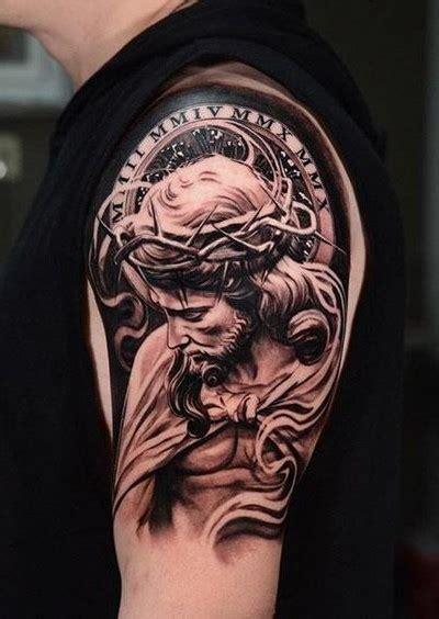 resultado de imagen de cristo tattoo brazo ideas