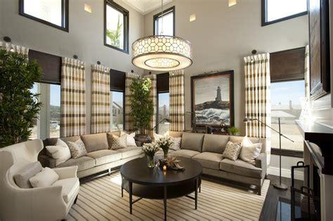 hamptons inspired luxury living room