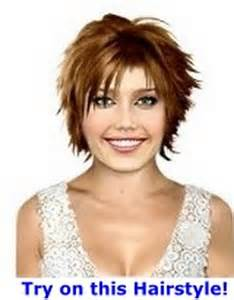 hairstyles for chunchy short chunky layered haircuts