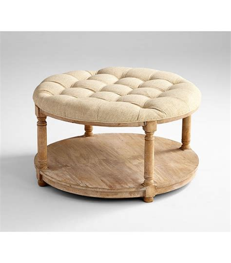 tufted round ottoman coffee table awesome tufted round ottoman coffee tables ideas best