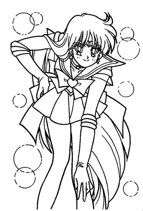 Sailor Mars Coloring Page Sailormoon Sailor Moon Sailor Mars Coloring Pages