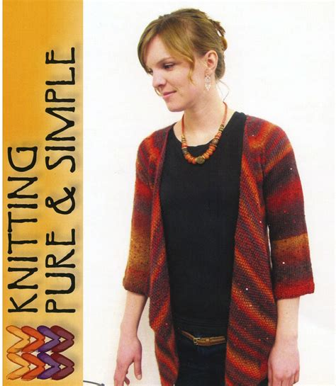 Basic Cardigan Ori Elsire Cardi Casual For top drape front cardi by and simple knitting pattern halcyon yarn