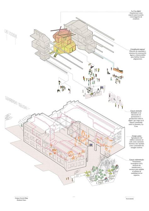 draw architecture diagram 1000 images about exploded axonometric architectural