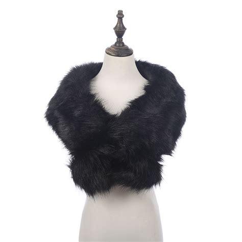 Pashmina Tatuis 5 luxury fashion faux fur collar scarf fluffy winter shawl wrap stole ebay