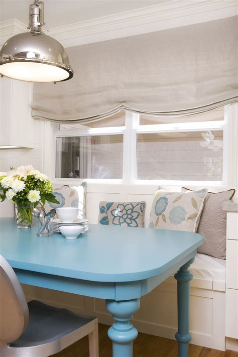 coastal kitchen table painted dining table dining room with aqua coastal coral chandelier beeyoutifullife