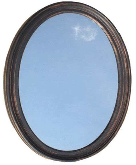 oval mirror with bronze color frame wall mirror bathroom decorative oval framed wall mirror oil rubbed bronze