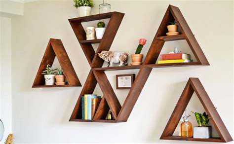 diy etagere une 233 tag 232 re triangle diy shake my