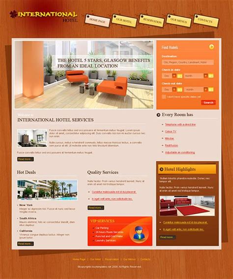 templates of website best website templates