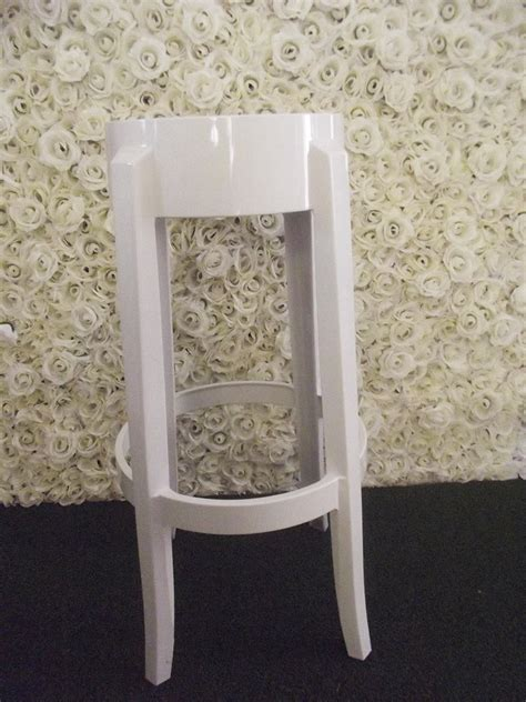 Louis Ghost Stool by White Louis Ghost Stool Satin Weddings And Events